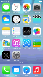 Apple iPod iOS 7 Image